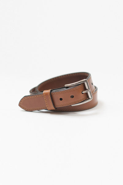 Rough Rider Tan Leather Belt - Belts - denimkratos