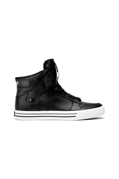 Supra Vaider Black/White Men's Shoes - Shoes - denimkratos