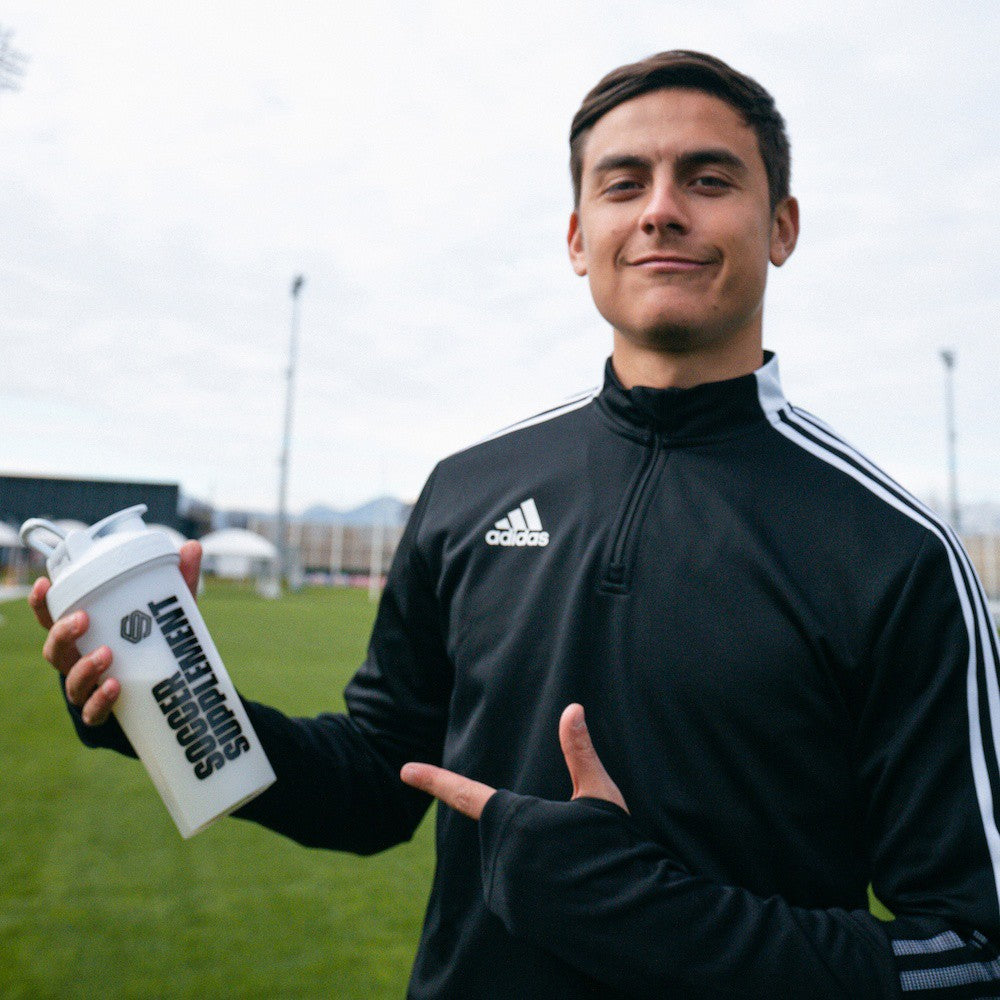Paulo Dybala, Football supplements, Energy Gel, Protein, Vitamins, Drinks