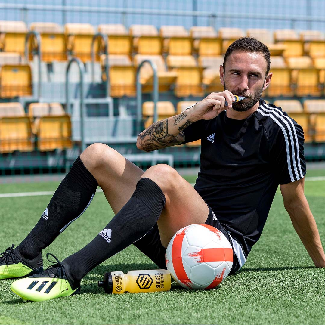 Miguel Layun, Football supplements, Energy Gel, Protein, Vitamins, Drinks
