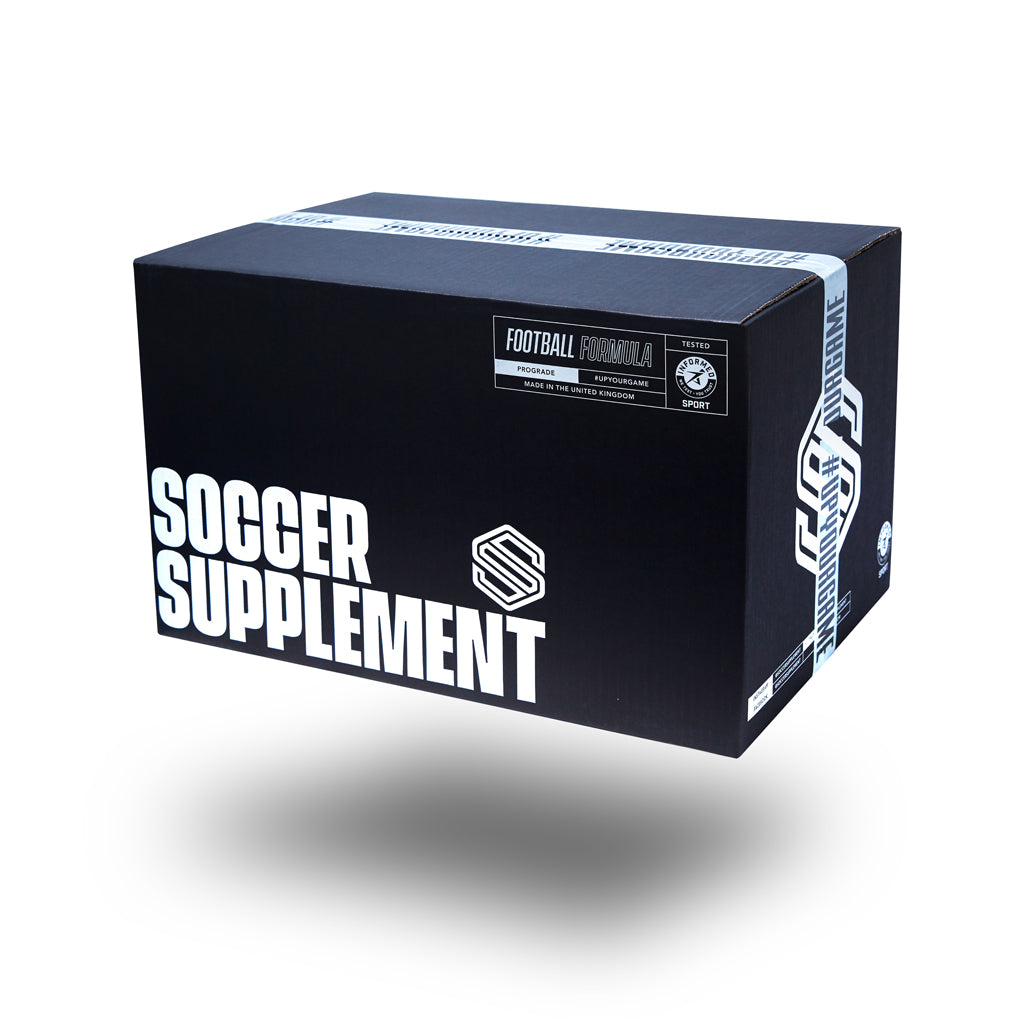Soccer Supplement Delivery, Football supplements, Energy Gel, Protein, Vitamins, Drinks