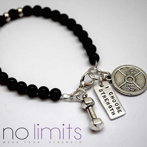 No Limits Believe bracelet
