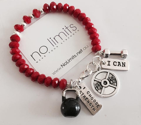 No Limits Be Fierce Bracelet