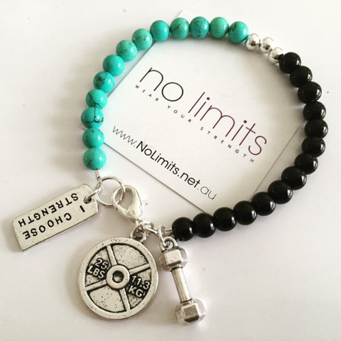 No Limits Go for it bracelet