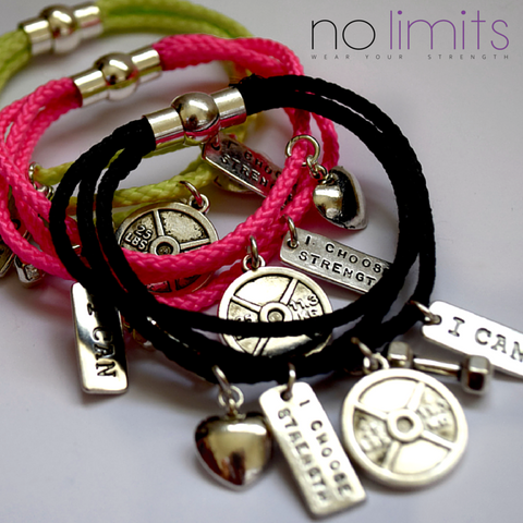 No Limits Tri Rope bracelet