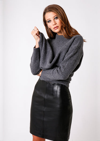Emmanuella Pencil Skirt in Black