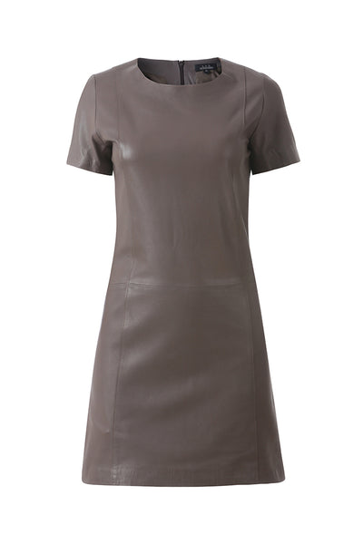 Taupe Classic Leather Dress