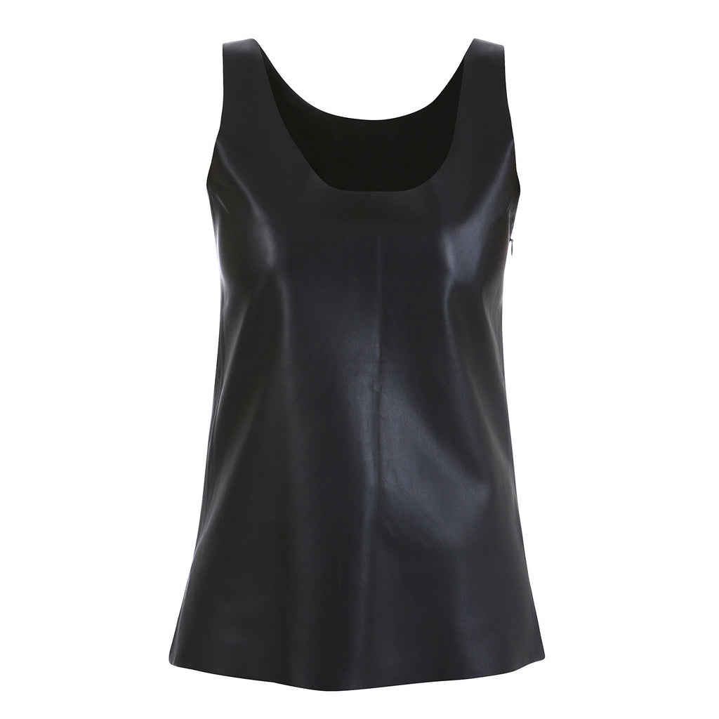 Thin Leather Tank