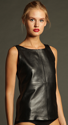 Classic Leather Tank - ELLEƧD - 1