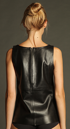 Classic Leather Tank - ELLEƧD - 2