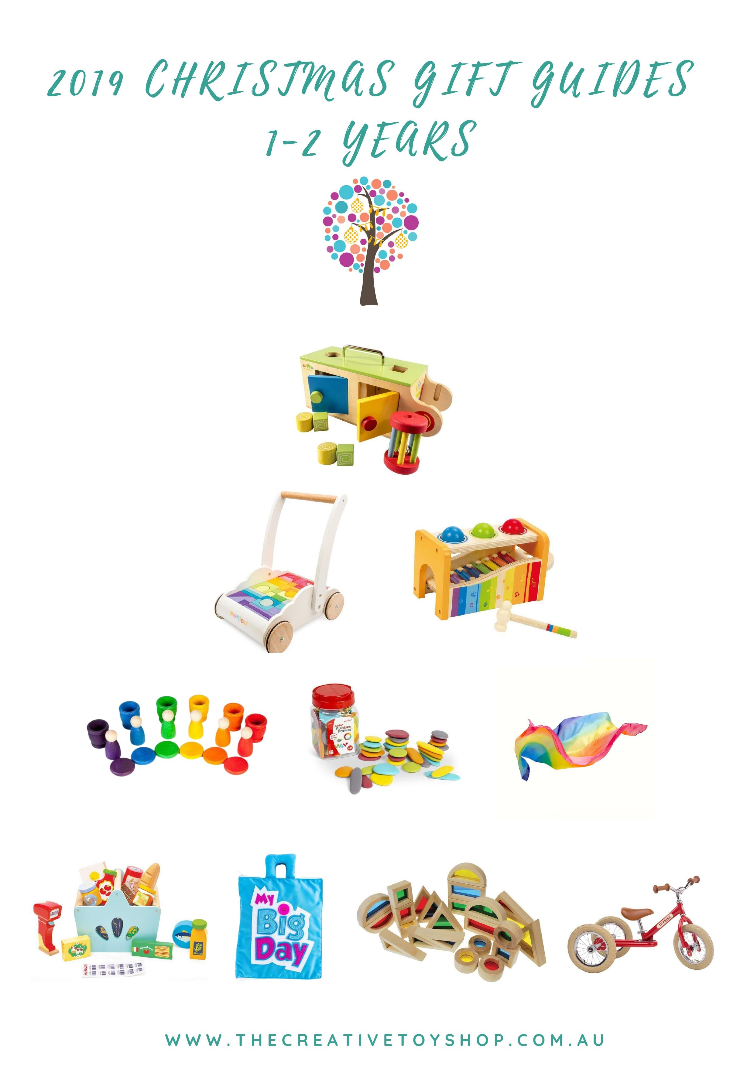The Creative Toy Shop 2019 Christmas Gift Guide 1-2 years