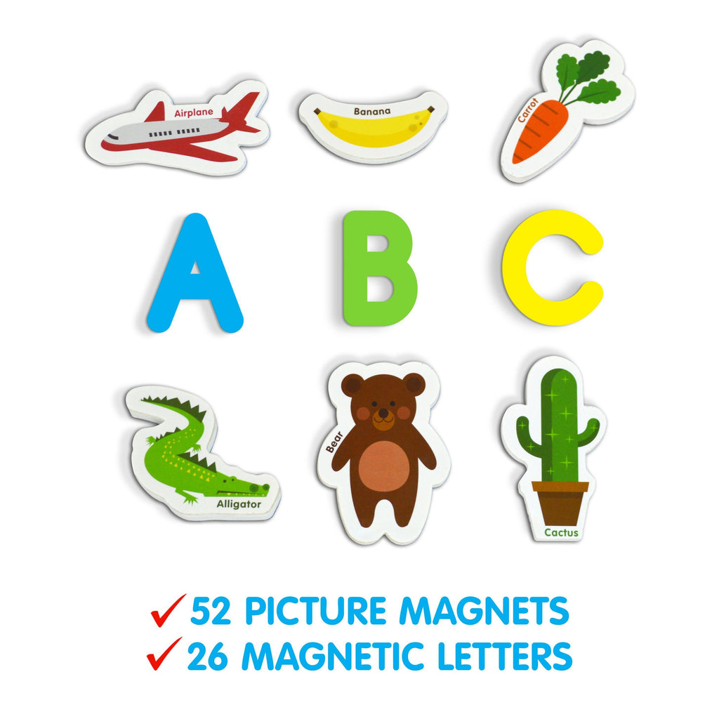 A-Z Magnetic Objects and Letters-The Creative Toy Shop