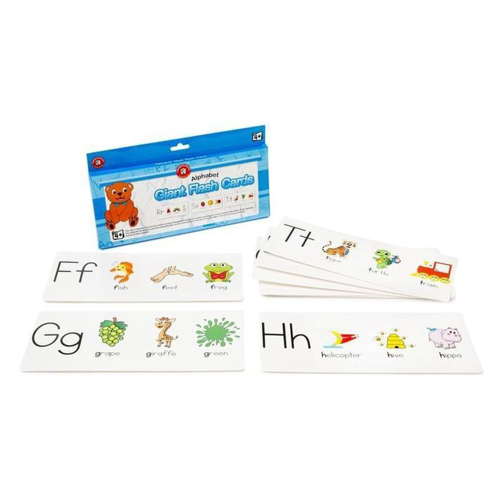 Alphabet Giant Flashcards - Learning Can Be Fun - The Creative Toy Shop