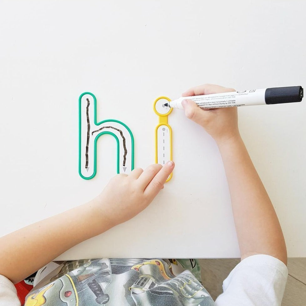 Alphabet Write and Wipe Lowercase - Edx Education - The Creative Toy Shop
