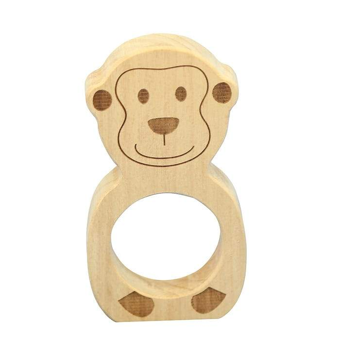 Beleduc Teether - Monkey-The Creative Toy Shop