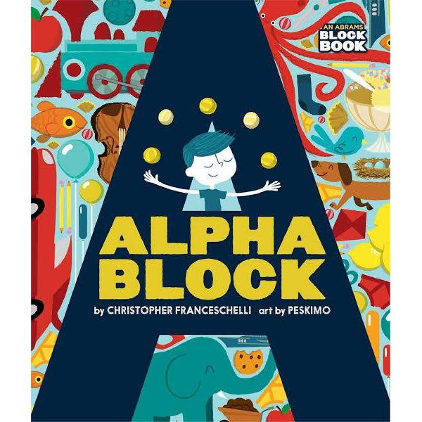 Book - Alphablock - Harper - The Creative Toy Shop