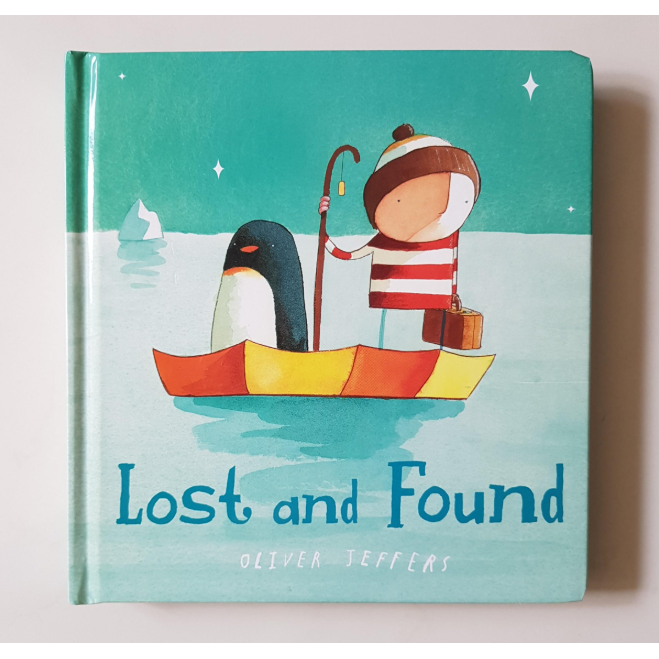 Book - Lost and Found by Oliver Jeffers - Harper - The Creative Toy Shop