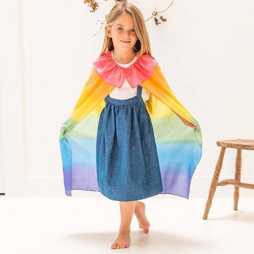 Sarah's Silks - Royal Silk Cape - Sarah's Silks - The Creative Toy Shop