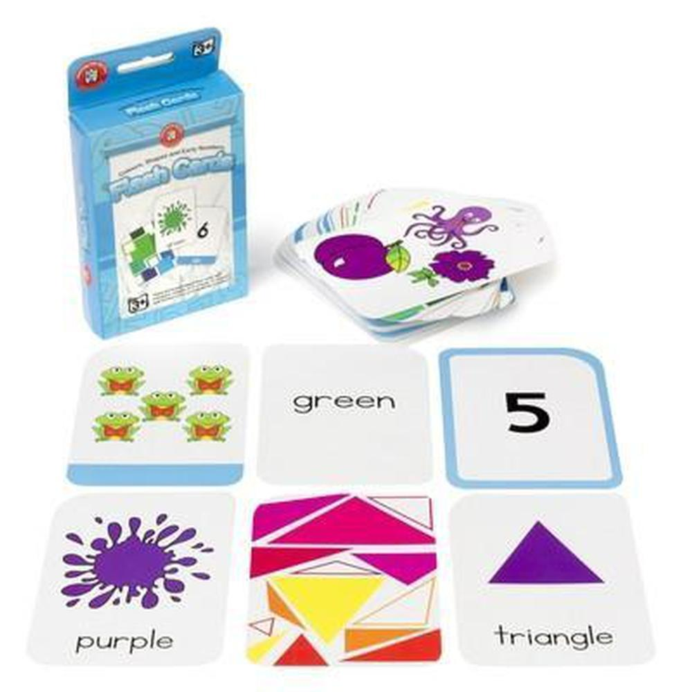 Colours, Shapes and Early Numbers Flashcards - Learning Can Be Fun - The Creative Toy Shop