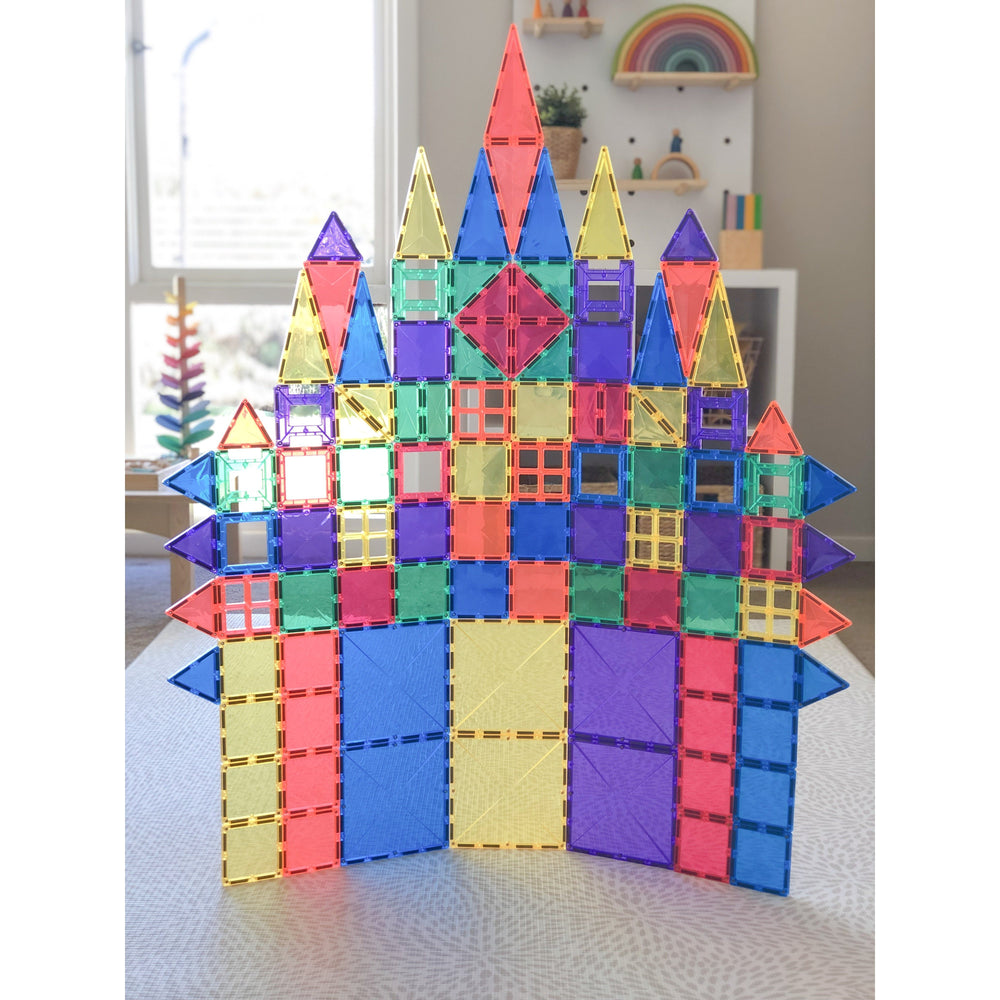Connetix Tiles - 100 Piece Set - Magnetic Building Tiles - Connetix Tiles - The Creative Toy Shop