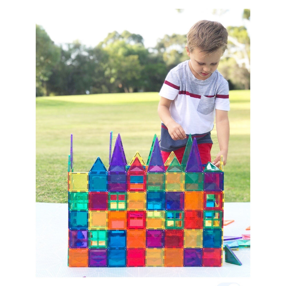 Connetix Tiles - 62 Piece Set - Magnetic Building Tiles - Connetix Tiles - The Creative Toy Shop