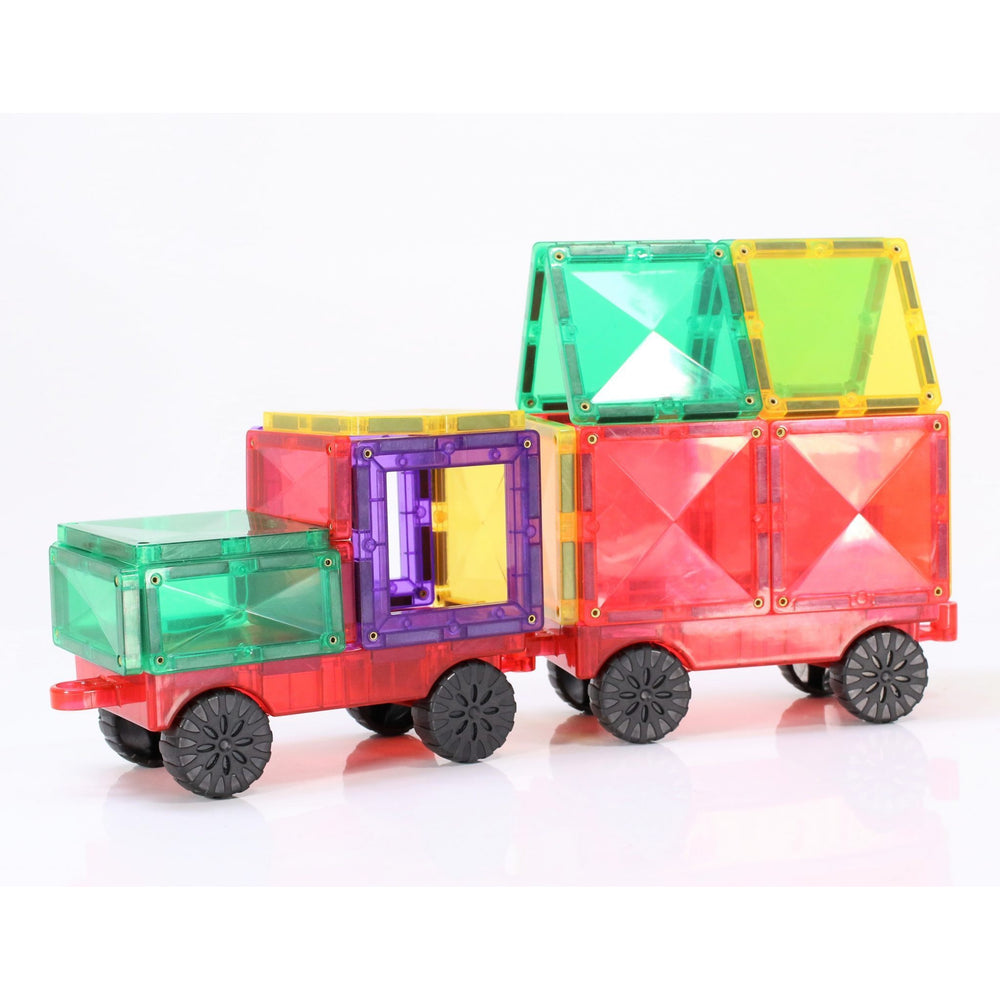 Connetix Tiles - Magnetic Car Set 24 pieces - Connetix Tiles - The Creative Toy Shop