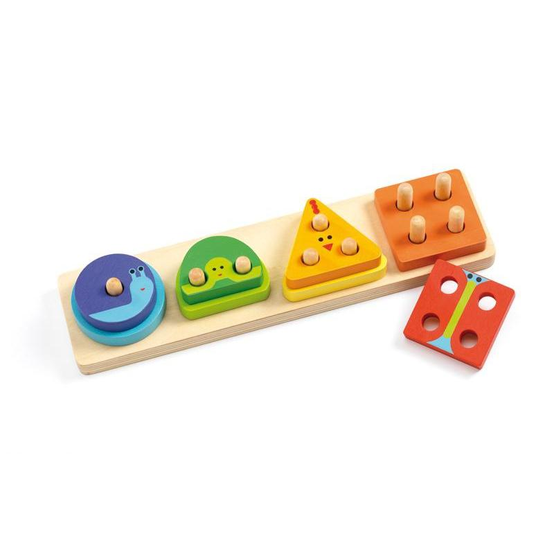 Djeco 1-2-3-4 Basic-The Creative Toy Shop