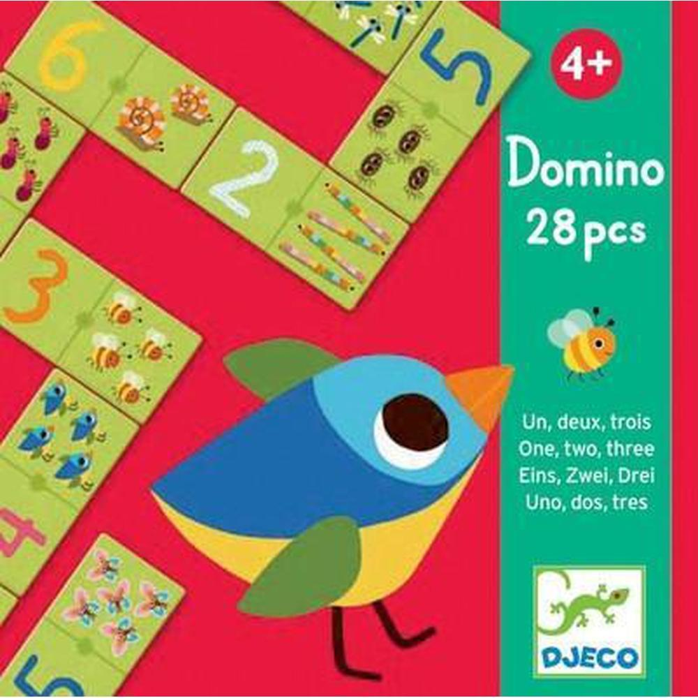 Djeco 123 Dominos-The Creative Toy Shop