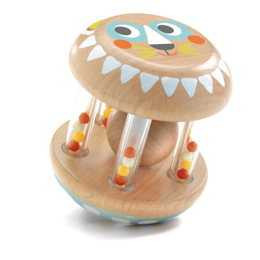 Djeco Babyshaki Rattle-Wooden rattles-The Creative Toy Shop