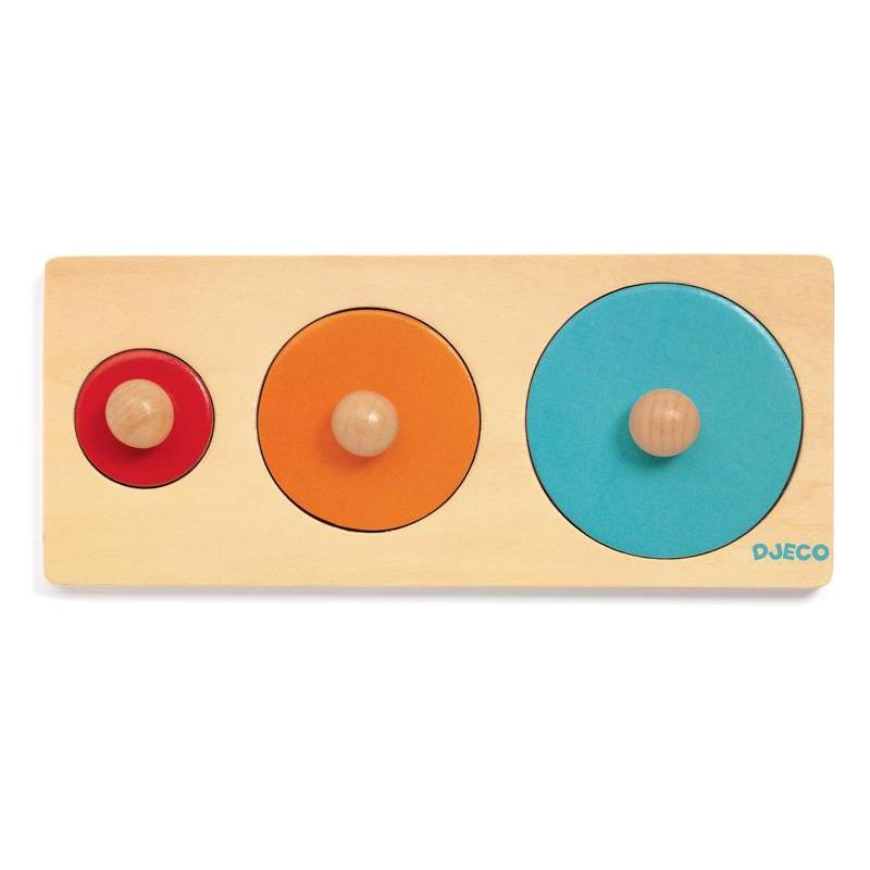 Djeco Bigabasic Wooden Puzzle-The Creative Toy Shop