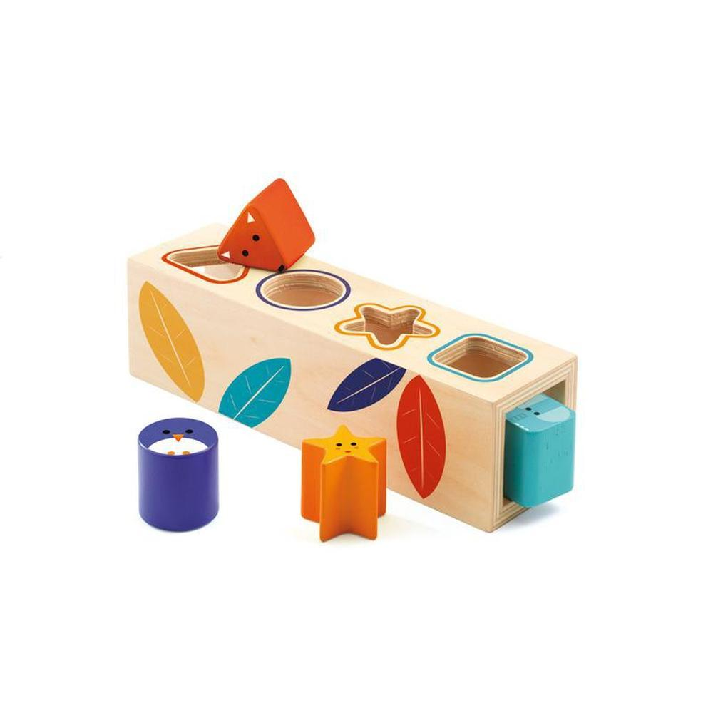 Djeco Boitabasic Shape Sorter-The Creative Toy Shop