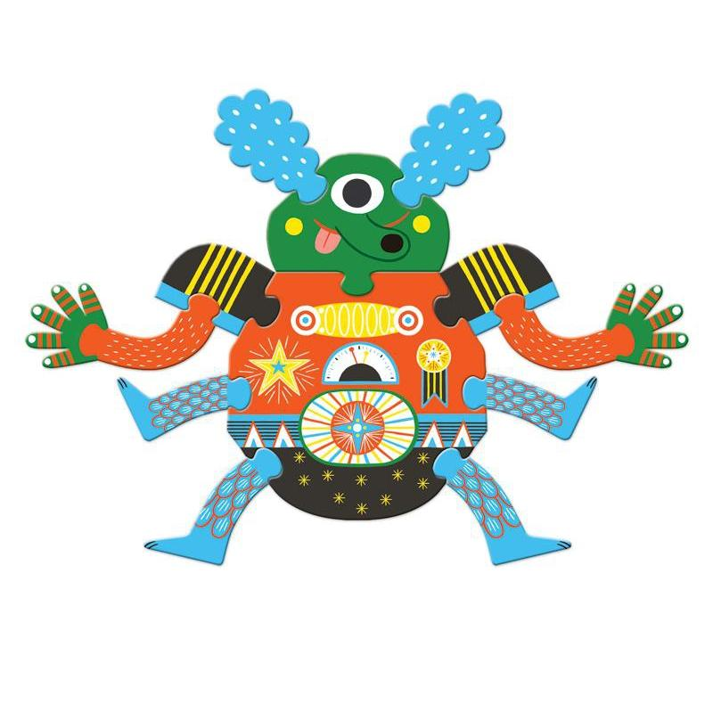 Djeco Crazy Puzzle-The Creative Toy Shop