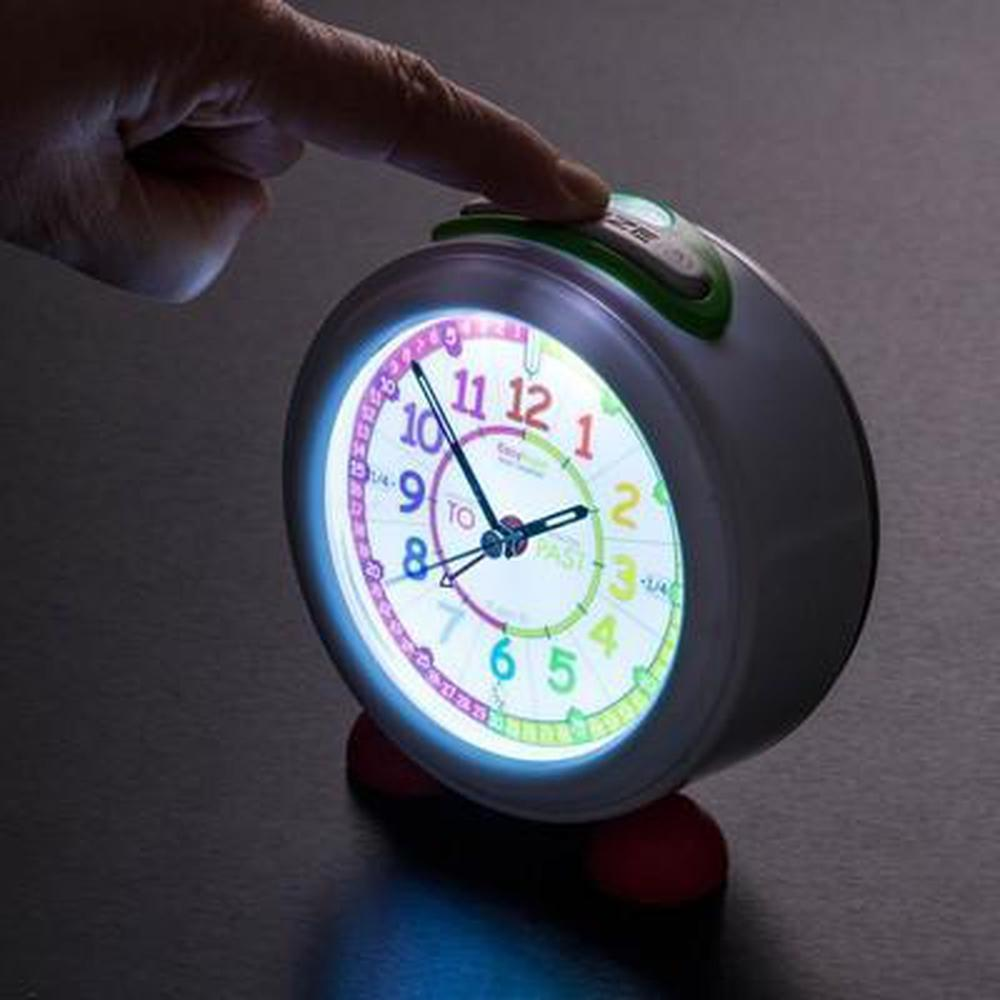 Easy Read Time Teacher Rainbow Alarm Clock-Time-The Creative Toy Shop