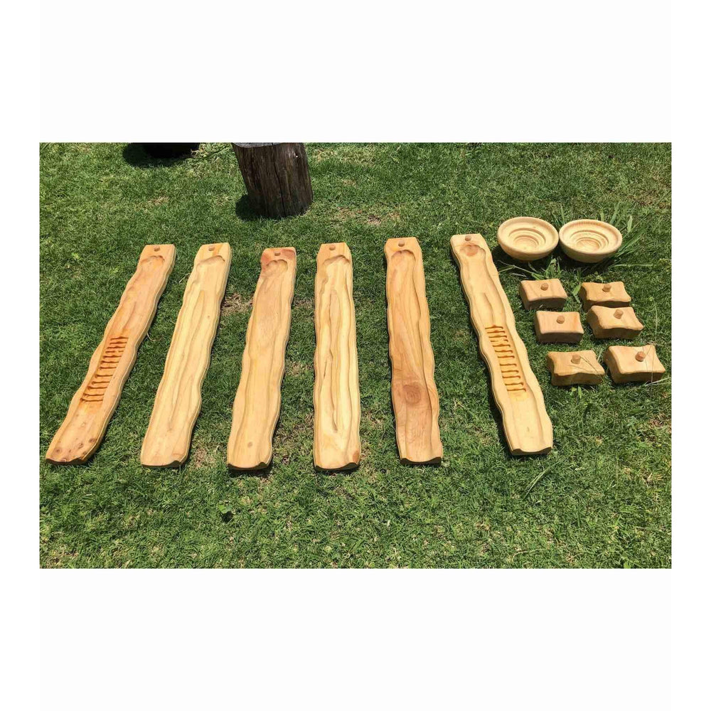 Explore Nook Wooden Water Ways – Starter ELC Set - Explore Nook - The Creative Toy Shop