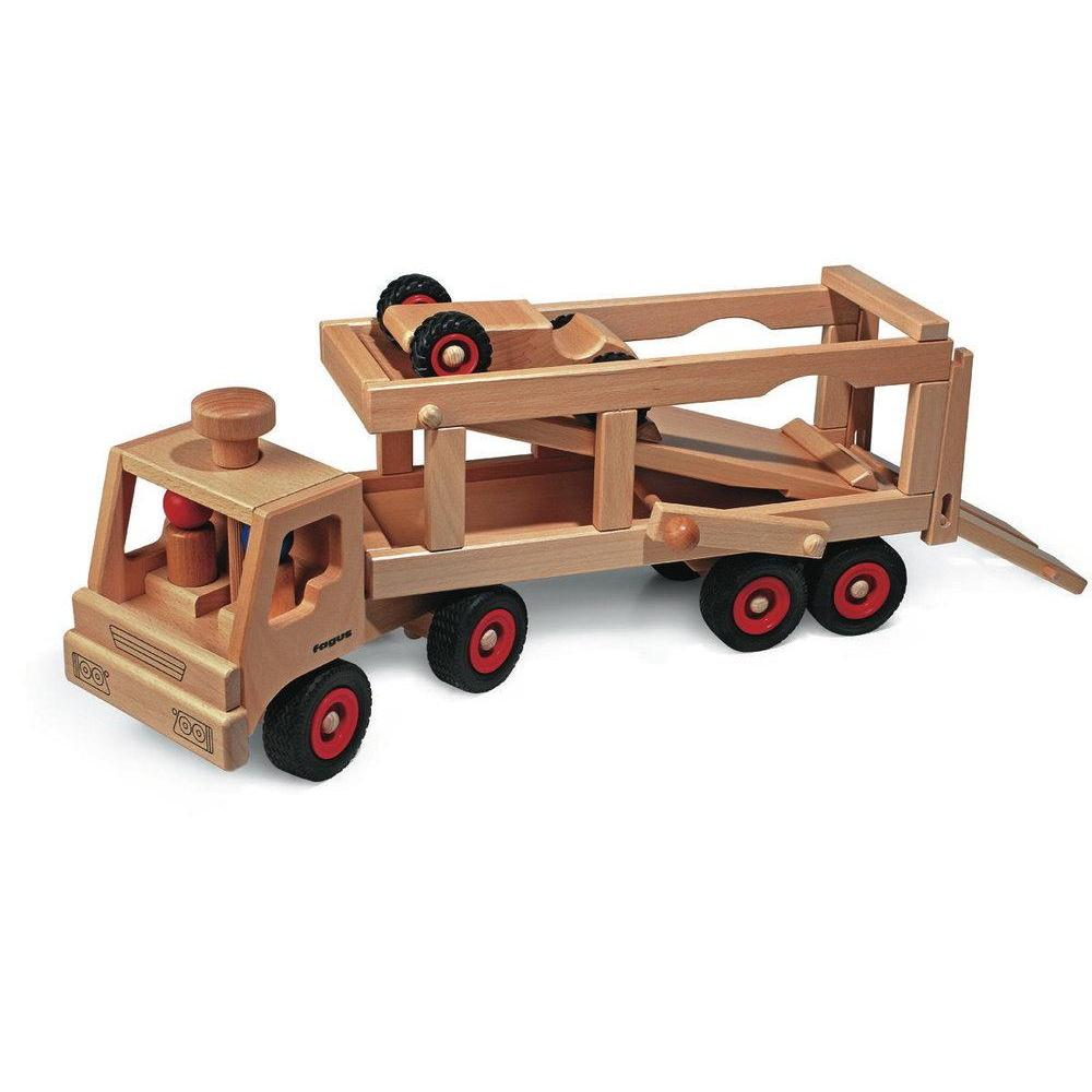 Fagus - Car Transporter - Fagus - The Creative Toy Shop