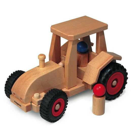 Fagus - Modern Tractor - Fagus - The Creative Toy Shop
