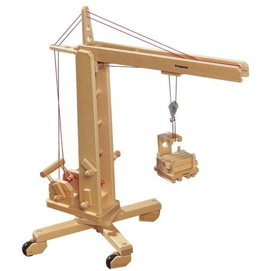 Fagus Wooden Crane-The Creative Toy Shop