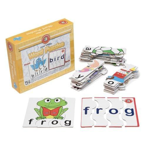 Four Letter Word Puzzles - Learning Can Be Fun - The Creative Toy Shop