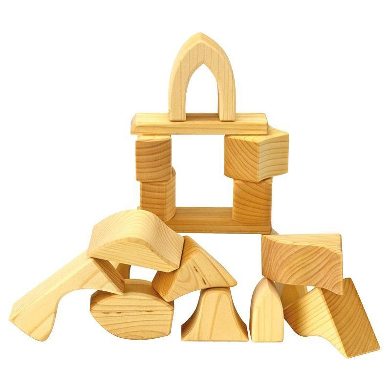 Gluckskafer Wooden Blocks - Gluckskafer - The Creative Toy Shop