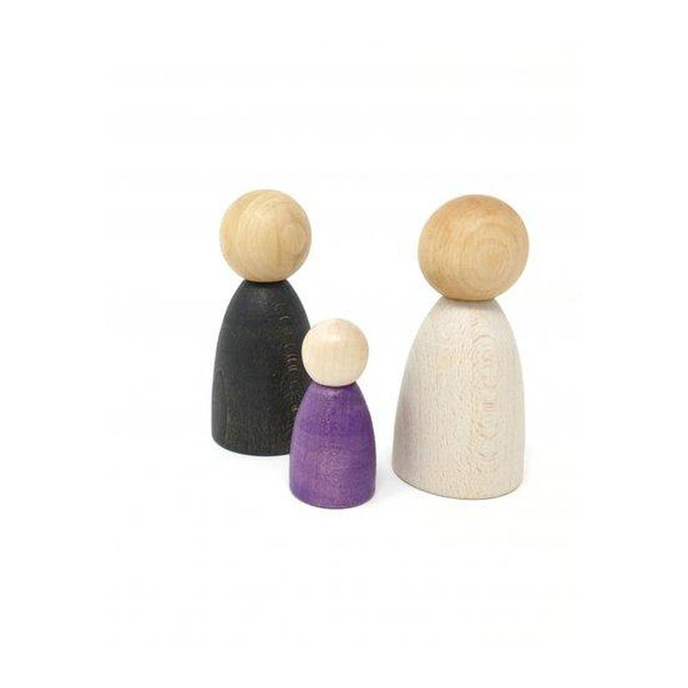 Grapat Adult Nins Light Wood-Building Accessories-The Creative Toy Shop