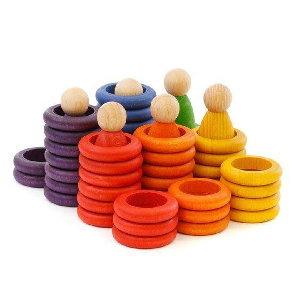 Grapat Nins, Rings and Coins - Grapat - The Creative Toy Shop
