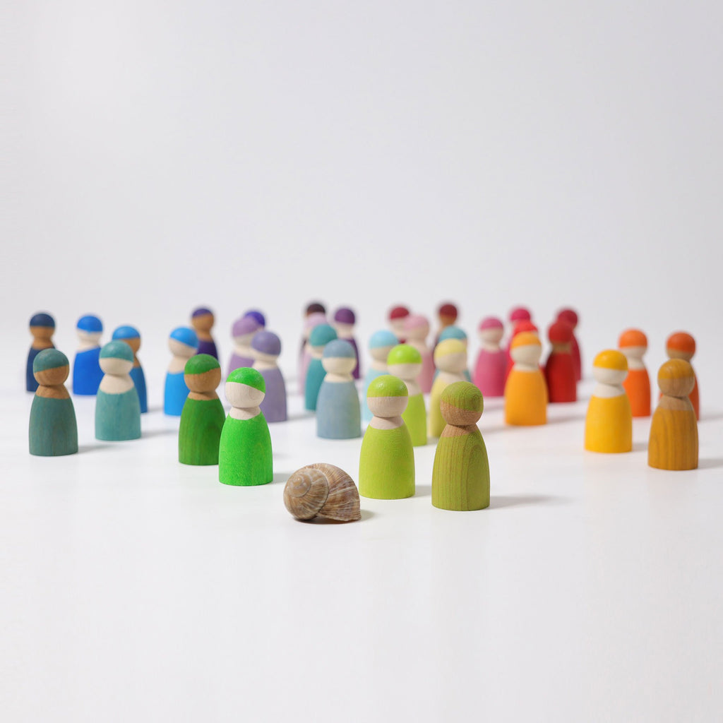 Grimm's 12 Rainbow Friends - Grimm's Spiel and Holz Design - The Creative Toy Shop