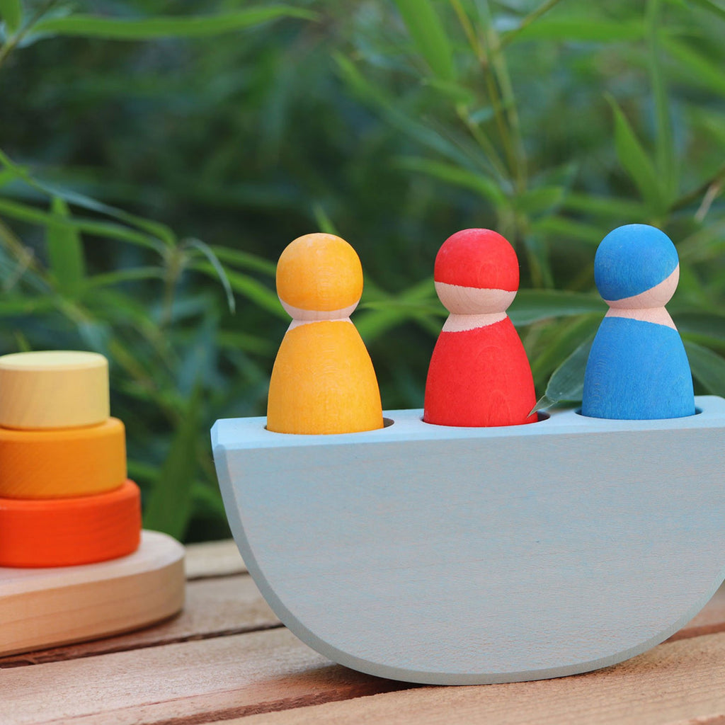 Grimm's 3 in a Boat - Grimm's Spiel and Holz Design - The Creative Toy Shop
