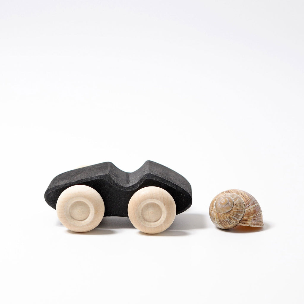 Grimm's 3 Little Monochrome Cars - Grimm's Spiel and Holz Design - The Creative Toy Shop