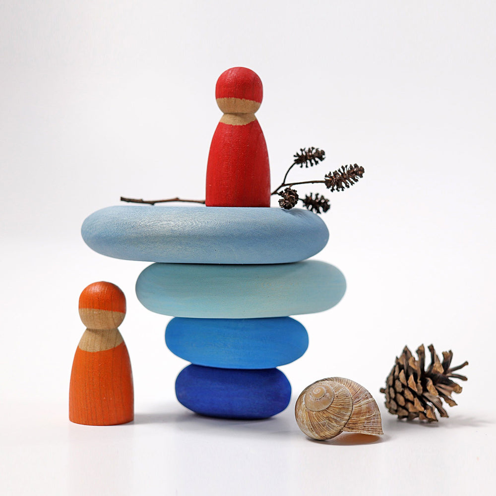 Grimm's Building Set Pebbles - River - Grimm's Spiel and Holz Design - The Creative Toy Shop