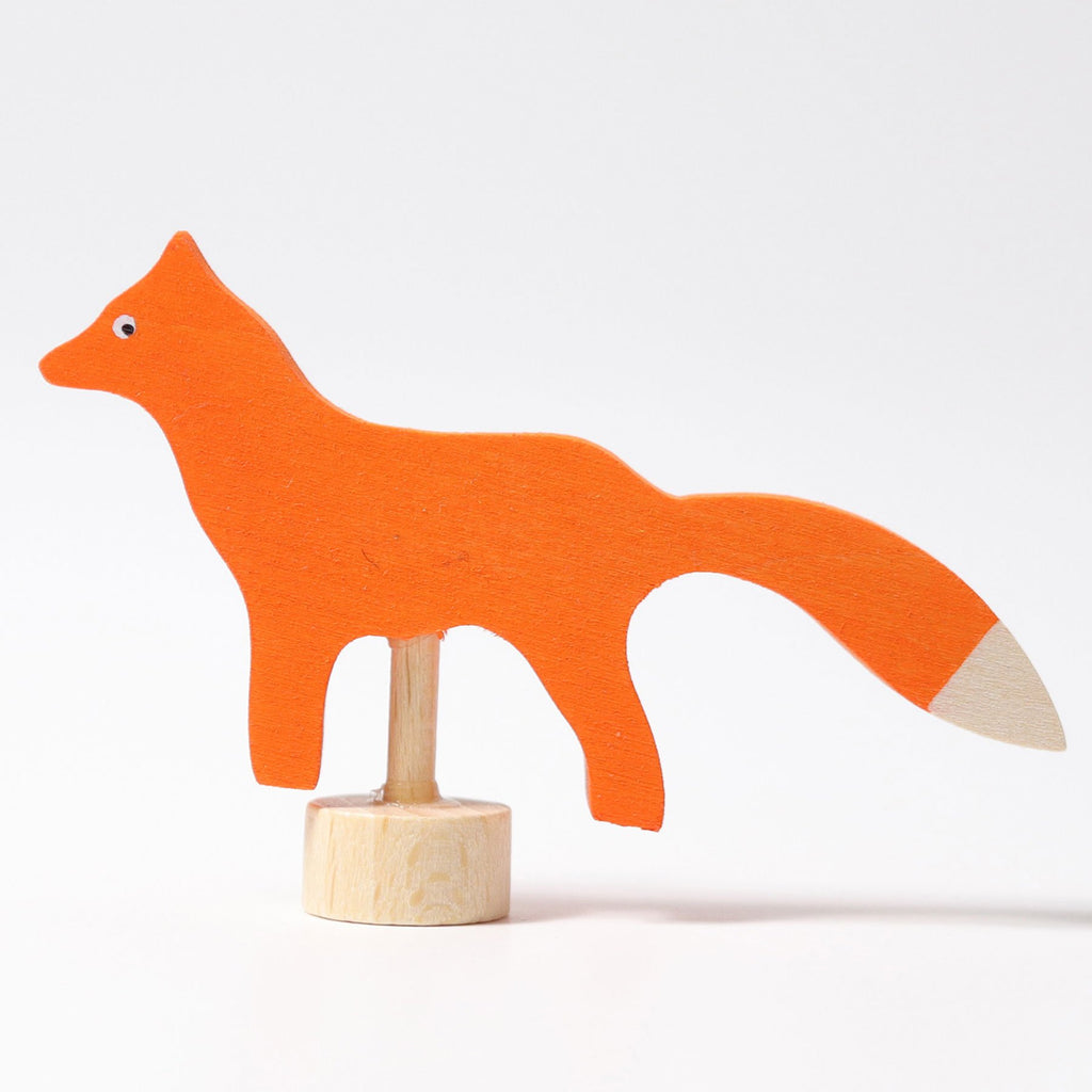 Grimm's Decorative Figure - Fox - Grimm's Spiel and Holz Design - The Creative Toy Shop