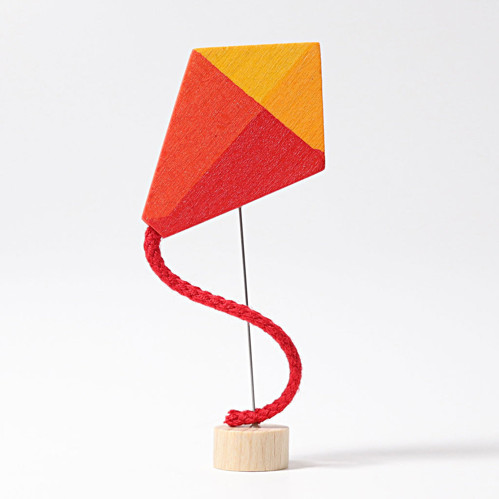 Grimm's Decorative Figure - Kite - Grimm's Spiel and Holz Design - The Creative Toy Shop