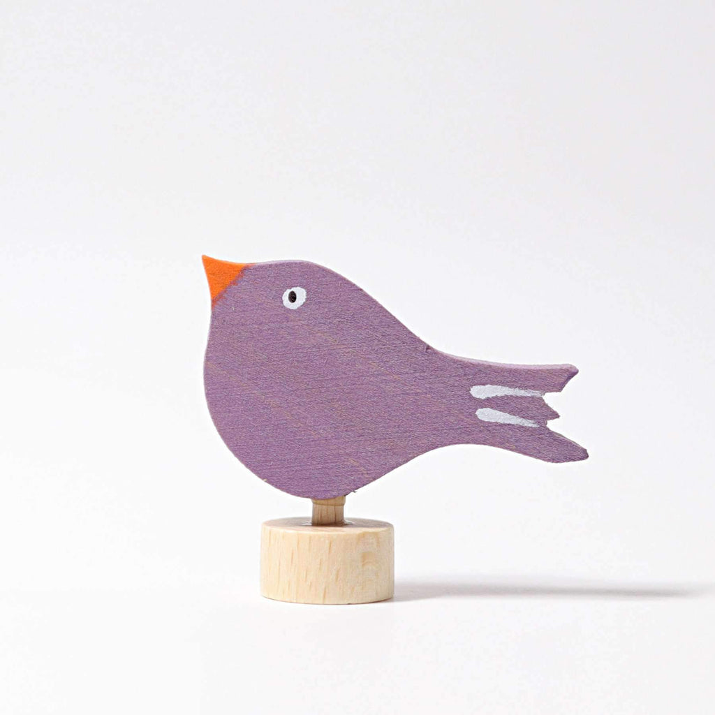 Grimm's Decorative Figure - Sitting Bird-The Creative Toy Shop