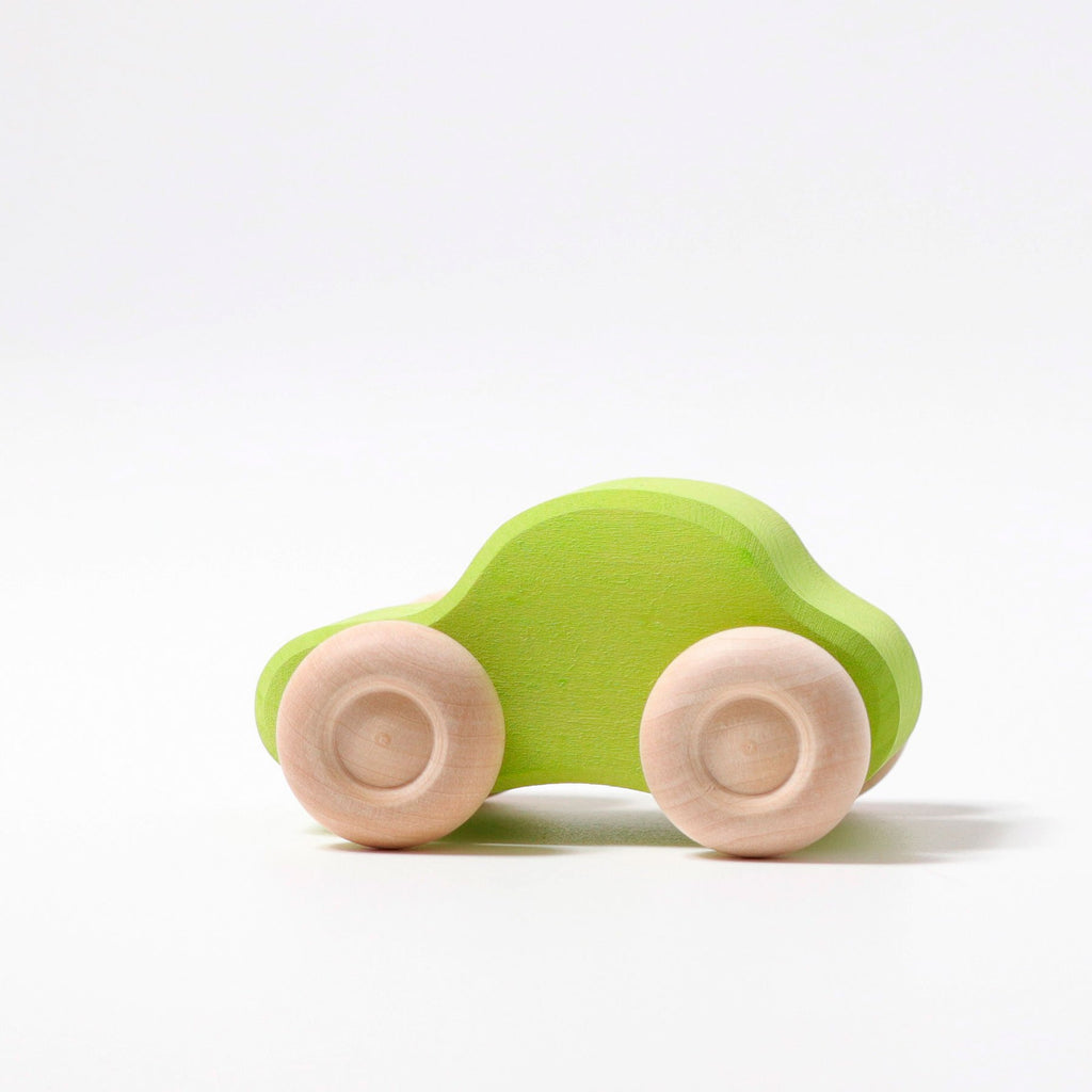 Grimm's Individual Coloured Wooden Cars-The Creative Toy Shop