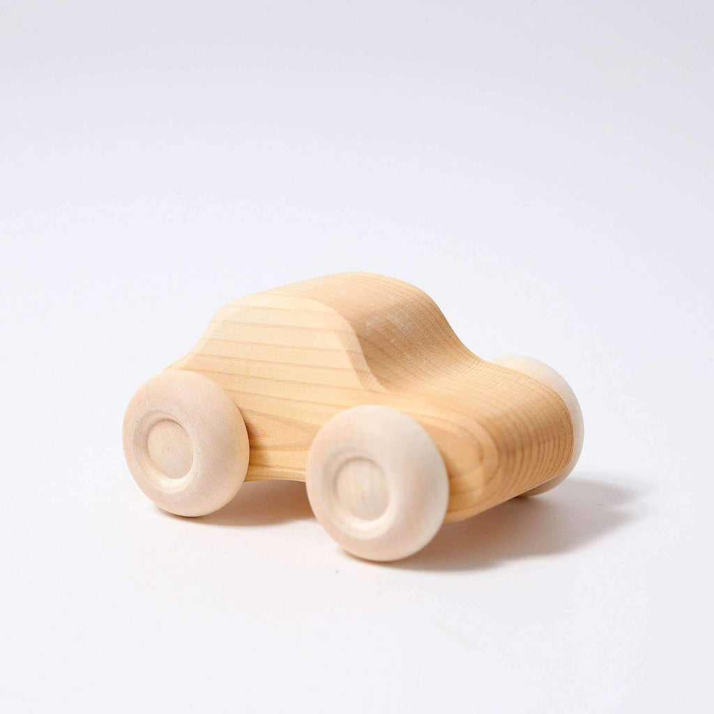 Grimm's Individual Natural Wooden Cars-The Creative Toy Shop